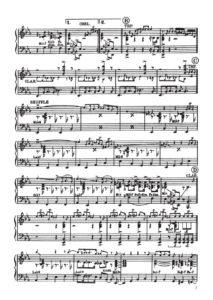 henghel gualdi, spartito musicale