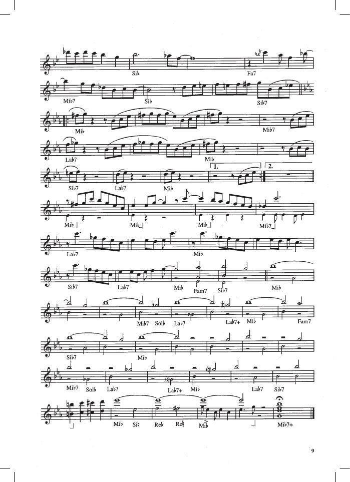 """Henghel Gualdi """"Blu note"""" Moderato swing, spartito Mp3 Midi base"""